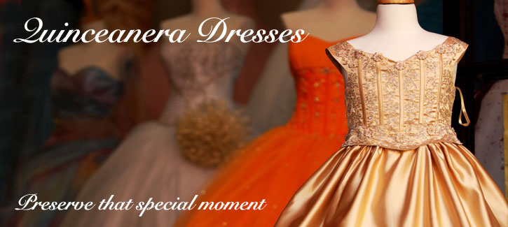Quinceanera Dresses - preserve that special moment