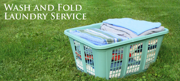 Wash and Fold Laundry Service